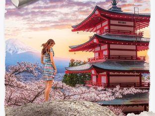 """""""Месец под вишневия цвят"""" – Луси Дикинс"""