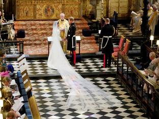 16 момента от сватбата на Хари и Меган, които няма да забравим