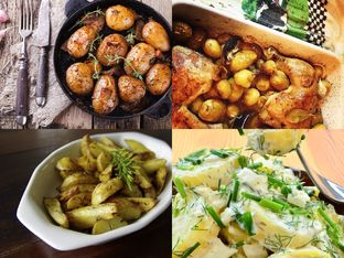 14 прекрасни рецепти с пресни картофи