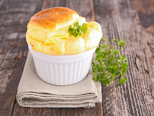 Солено суфле със сирене