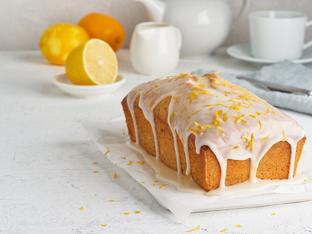 Лимонов кекс с джинджифил и глазура