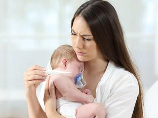 8 признака, че бебето ви е болно