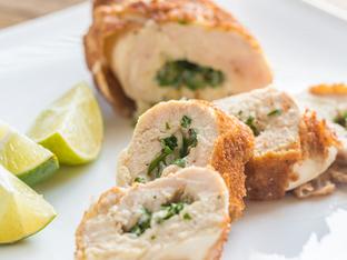 Пълнени пилешки гърди с броколи