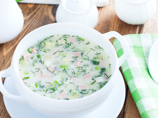 Рецепта за окрошка – студена руска супа
