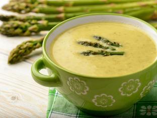 Крем супа с аспержи