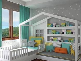 Креативни идеи за обзавеждане на детска стая (галерия)