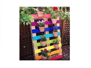 Декорация за градината с дървени палети