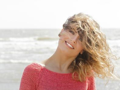 Морски вълни в косата