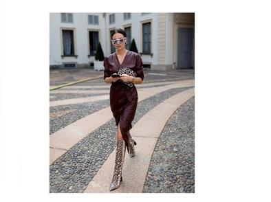 13 визии с кожени рокли