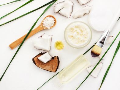 Подхранване на косата с кокосово масло