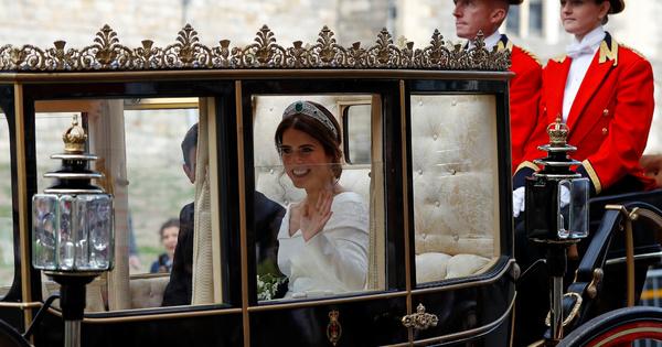 Още една красива сватба бе записана в британското кралско семейство.