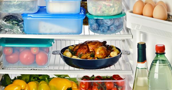 Правилното съхранение на продуктите в хладилника и килера е важно,