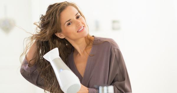 Сушене на високи градуси, пропускане на основна козметична грижа според