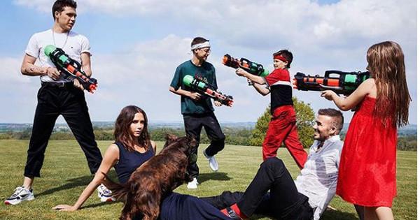 Семейство Бекъм е темата на октомврийския брой на Vogue UK,