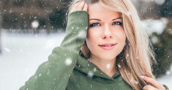 През зимата кожата е подложена на истински стрес. Студеният въздух