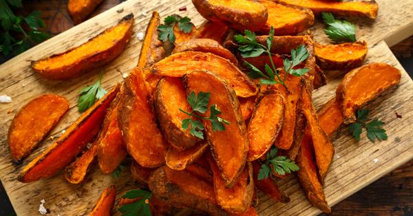 Сладките картофи са сладки, вкусни и много полезни. Те са
