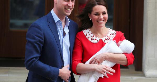 Само часове след раждането, Кейт Мидълтън показа новородения си син,