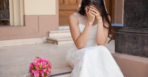 Сватбата би трябвало да е един от най-щастливите моменти в