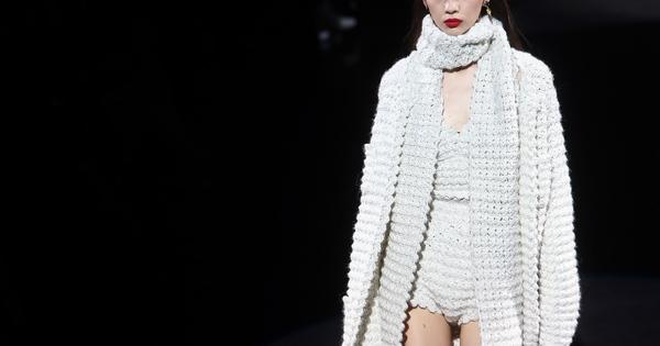 От Седмицата на модата в Милано, може би едно от