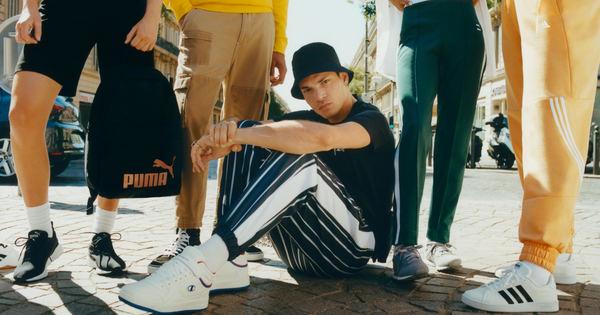 Колекции от най-популярните спортни марки – Adidas, Puma и Reebok,