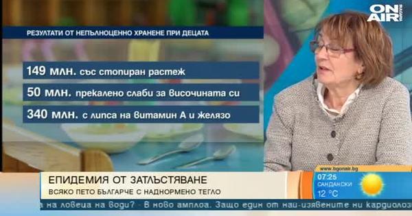 Българските деца са на шесто място по наднормено тегло, сочи