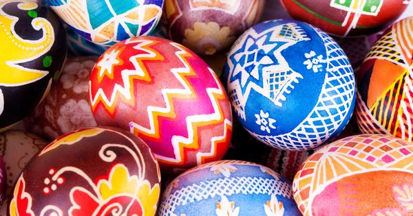 Снимка: 7 красиви начина да боядисаме яйцата за Великден