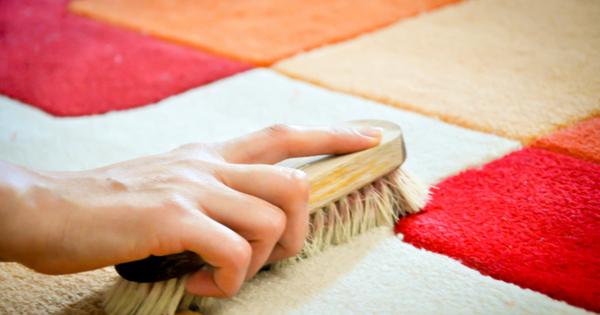 Как уксусом почистить ковры в домашних условиях