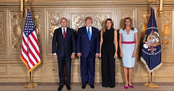 Президентът Румен Радев и съпругата му Десислава бяха гости на