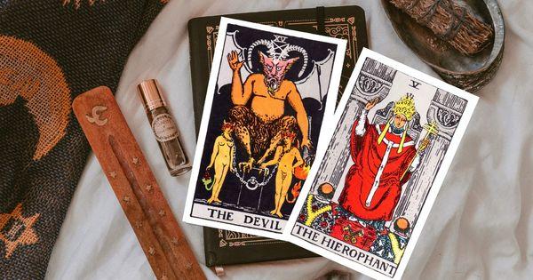 Карта на деня –Дяволът. Дяволът показва несъответствие с Духа и