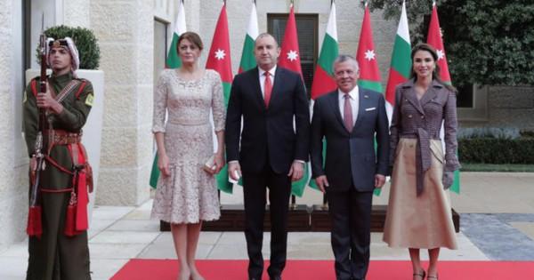 Българският президент Румен Радев и съпругата му Десислава Радева са