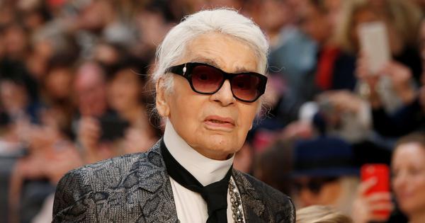 На 85-годишна възраст, в една от модните столици - Париж,