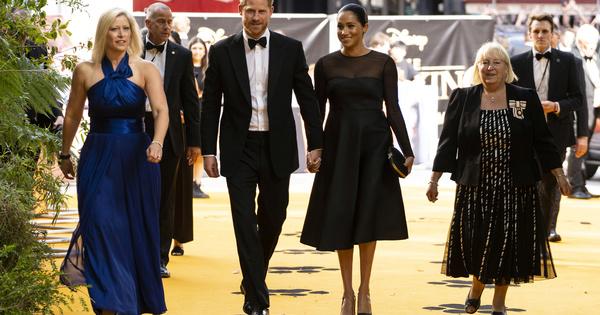Принц Хари и съпругата му Меган Маркъл присъстваха на премиерата