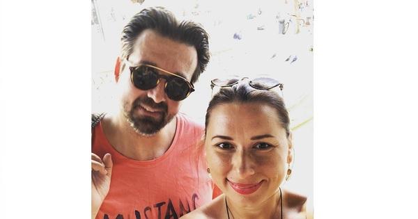 Известната сексоложка Наталия Кобилкина и съпругът ѝ Такис, споделиха в