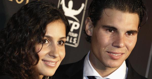 Тенис звездата Рафаел Надал и приятелката му Мария Перейо сключиха