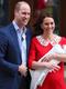 Кейт и Уилям показаха новия принц на света