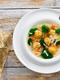 Италианска сватбена супа с паста и кюфтета