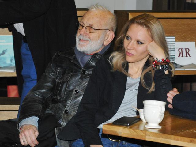 Ицках Финци и партньорката му Лиза. Снимка: Булфото