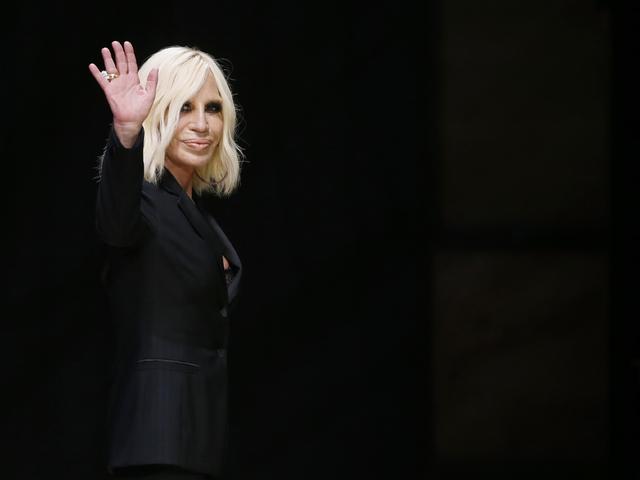 Донатела Версаче. Снимка: Reuters