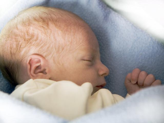 Бебе, което спи. Снимка: Sxc.hu