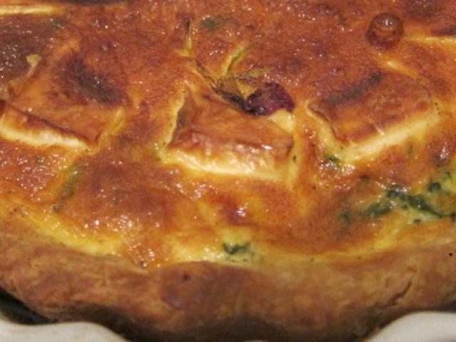 Френски тарт с камамбер