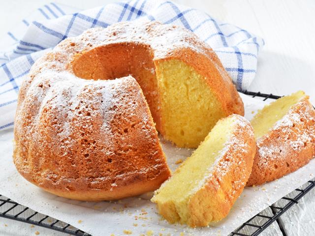 Кекс с крема сирене и масло