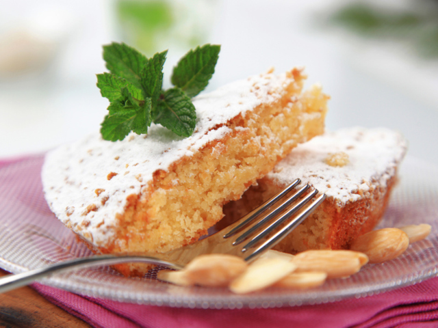 Кекс с бадемово брашно без глутен