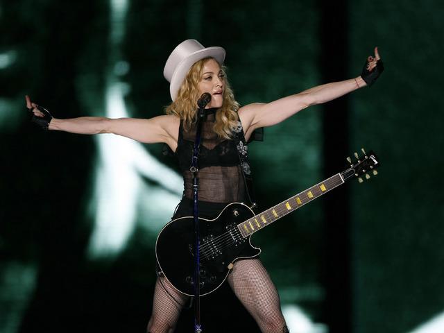 Мадона. Снимка: Reuters