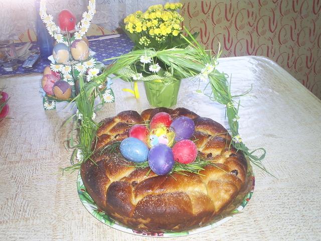 Козунак без яйца