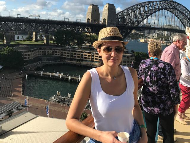 В Сидни, Австралия. Снимка: личен архив