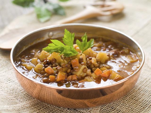Постна гръцка супа от леща