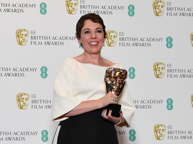 Оливия Колман бе отличена в категория най-добра актриса. Снимка: Reuters
