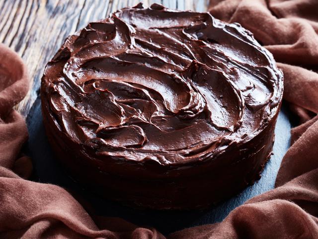 Шоколадова глазура за торта, кекс, сладкиш