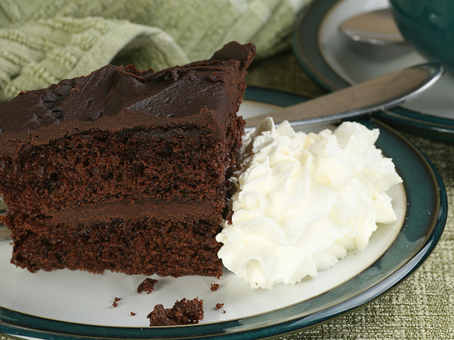 Лесна торта с шоколадов крем