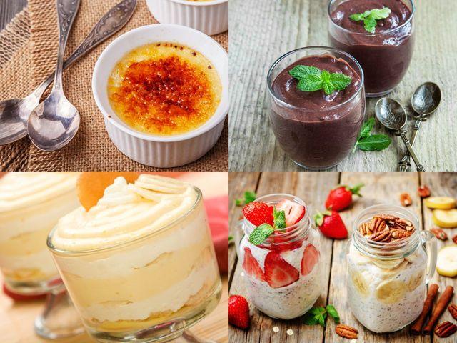 20 рецепти за домашен крем или пудинг